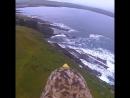 Вид на шотландские горы с высоты птичьего полета