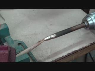 Пружинный керн своими руками без токарного станка