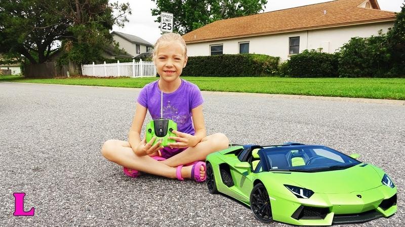 Машинка игрушка Ламборгини большая спортивная модель Lamborghini