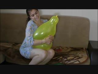 Balloon Fetish Looner hug squeeze pop Comp