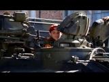 Молодая Гвардия Донбасса в гостях у воинской части, ремонта и обслуживания боевой техники. г. Горловка. ДНР.  3 августа 2018г.