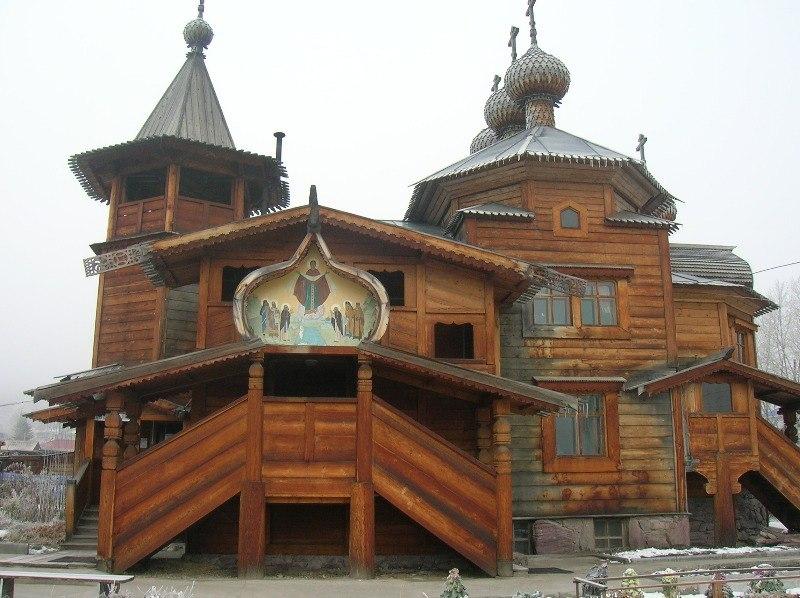 Храм в Усть-Коксе