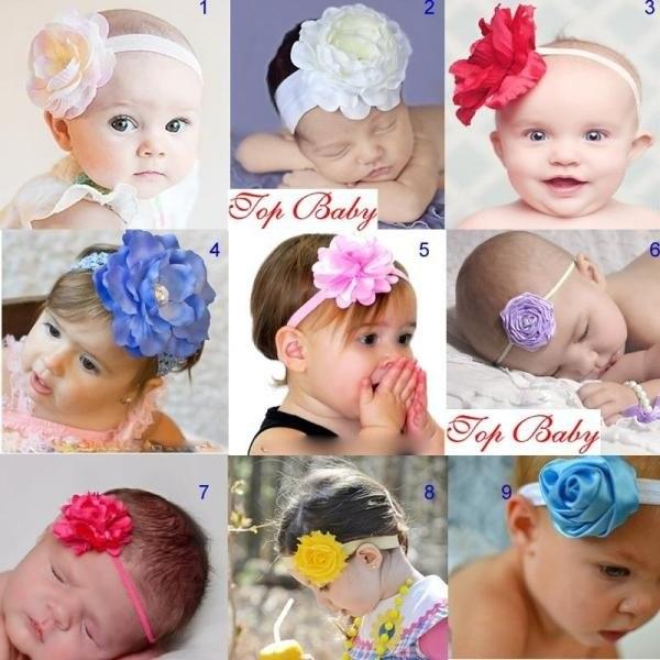 Украшения на голову новорожденным