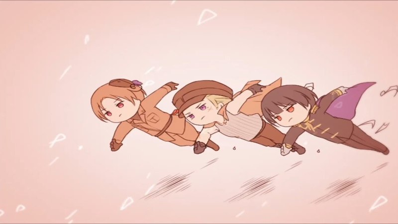 【MAD】Hetalia Axis Powers『Rolling Girl』