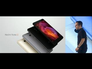 Xiaomi Redmi Note 4 2017 Announced in India