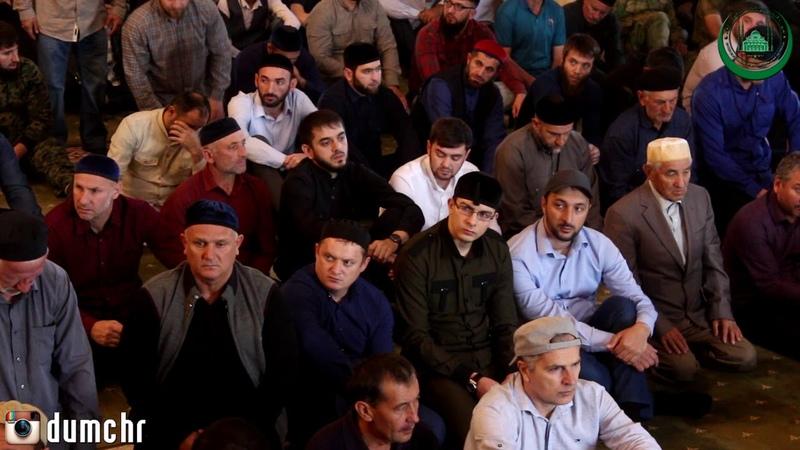 Пятничная хутба Салаха Межиева в мечети Сердце Чечни (28,09,18)