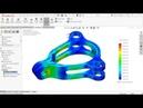 SolidWorks Simulation Tutorial Model Mania Part 3