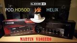 Line 6 POD HD500 vs Line 6 HELIX