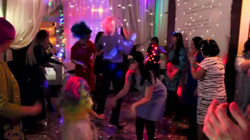Танцевальный мясотряс (4). Новогодние корпоративы. Банкетный зал Шекспир