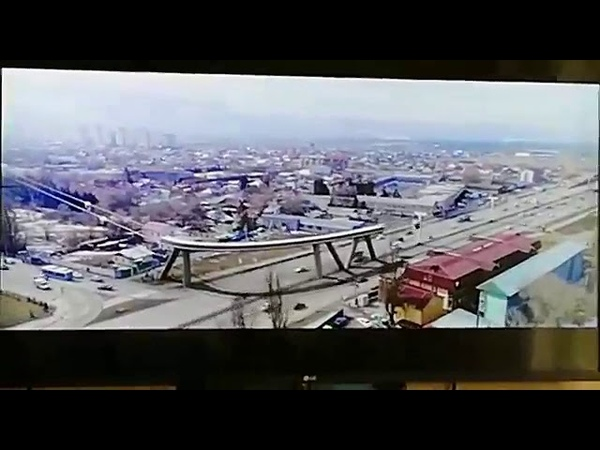 На ваше представление ролик из Казахстана, Алматы Трасса Калкаман-Каскелен