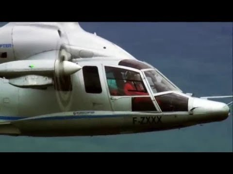 Eurocopter (Airbus) X3 high speed helicopter, 2012 prototype (video compilation)