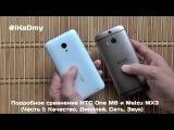 Подробное сравнение HTC One M8 и Meizu MX3 (Часть 1: Качество, Дисплей, Сеть, Звук)