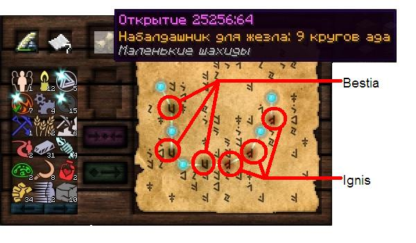 Как сделать набалдашники в thaumcraft 4.2