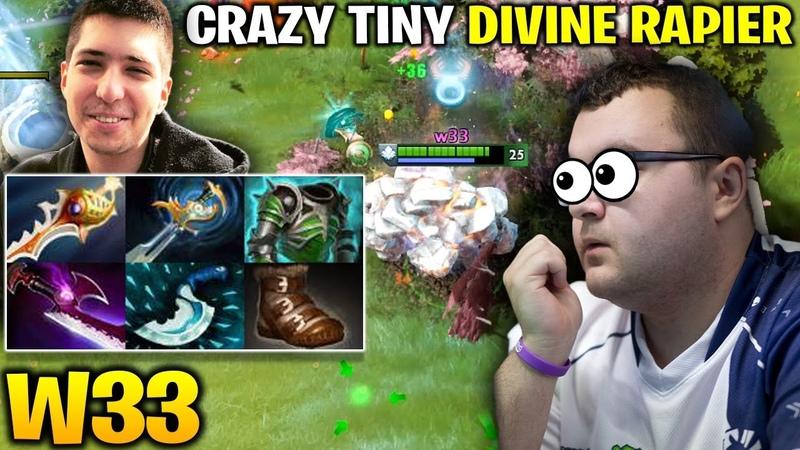 W33 Divine Rapier Tiny vs Mind Control Spirit Breaker