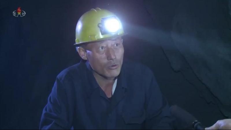 석탄증산의 동음을 더 높이 -북창지구청년탄광련합기업소 회안청년탄광-