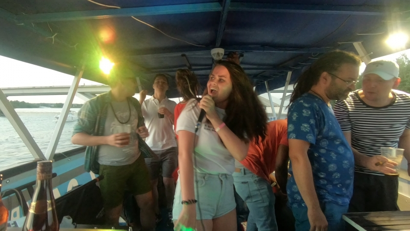 Miss Baas - DJ set (pt.1) on Moscow River @ DanceHeat Caribbean Boat Party, 12.08.2018