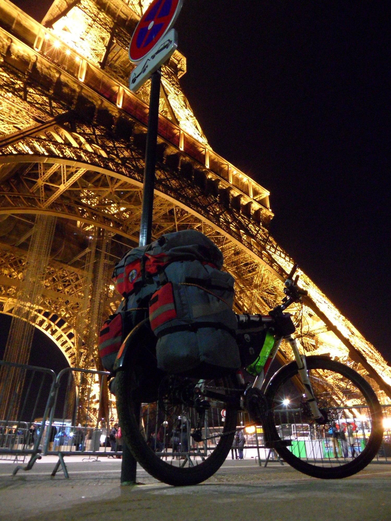 Кругосветка в Париже