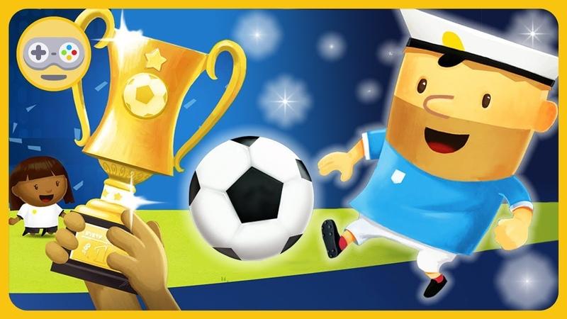 Футбол для детей - Выиграй Кубок и Чемпионат мира по футболу в игре Fiete Soccer на Kids PlayBox