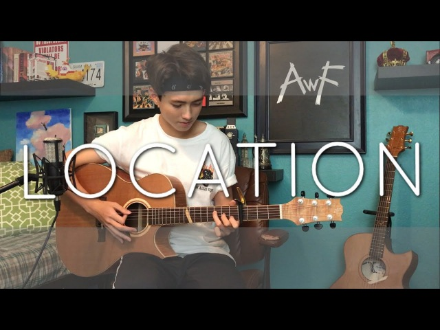 Khalid Location Cover Fingerstyle Vocal