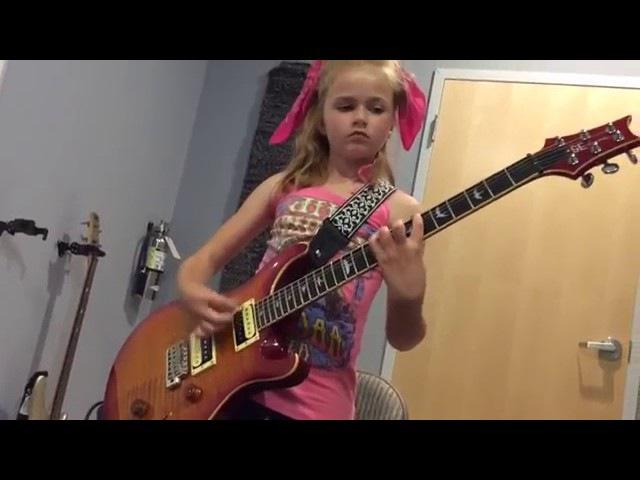 Kid Plays Johnny B Goode 10 Yrs Old On Guitar