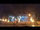 Фаер шоу в пгт Новоозерное с днем рождения посёлка 3