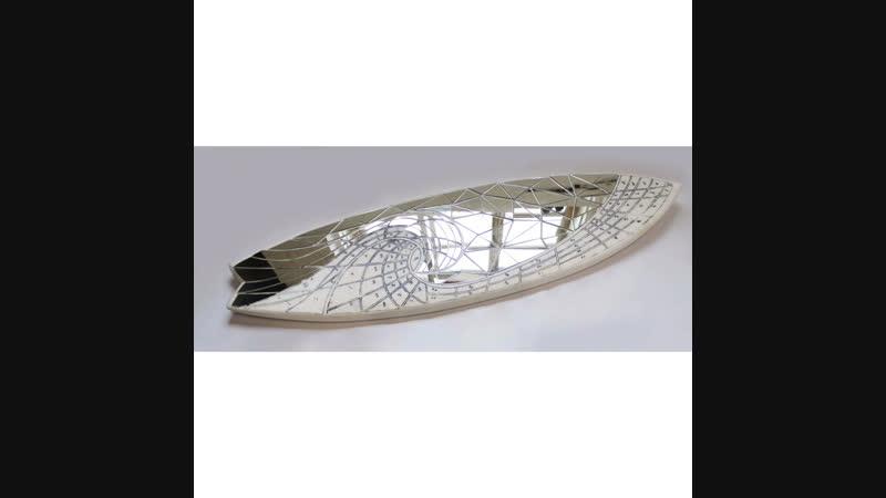 Art MirrorSurfboard Model N.5