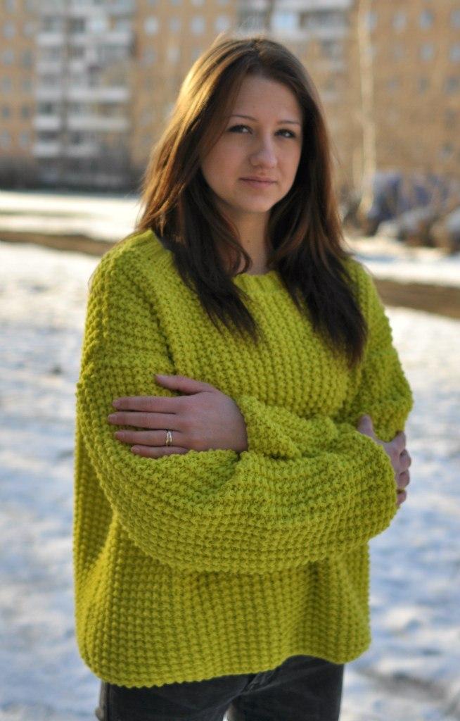 Вязание для женщин крупная вязка