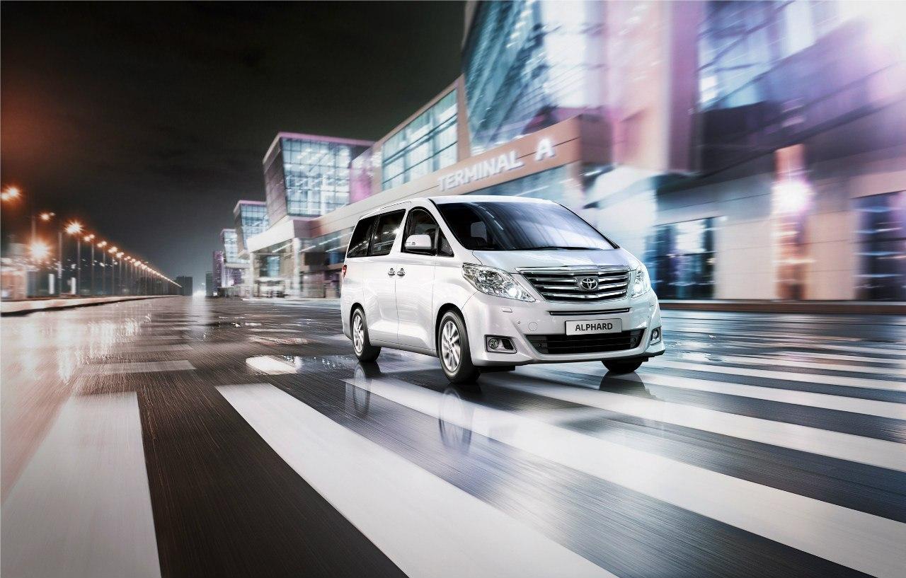 Официальный Toyota Alphard 2012 для России