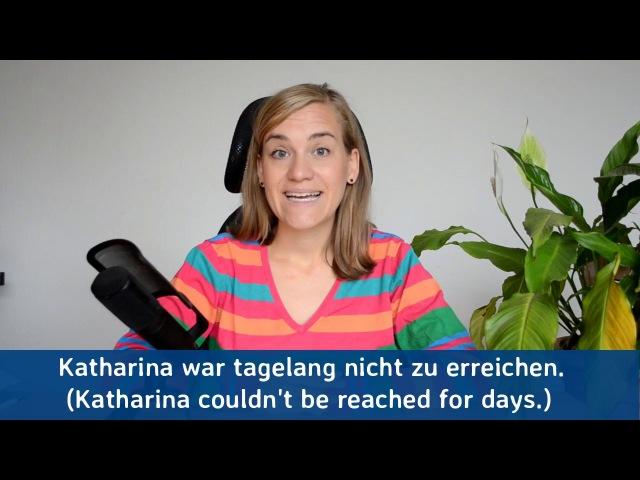 German Lesson 178 Adverbs of Time Part 5 für ∙ schon lange ∙ seit langem A2 B1