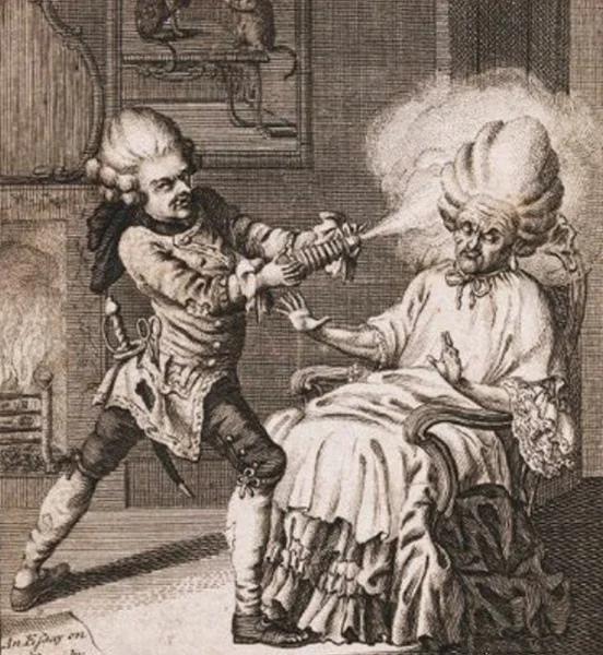 Факты о гигиене в 18-го века: