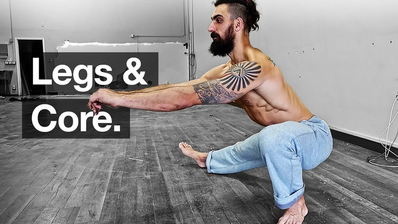 Bodyweight Leg Workout Core *Follow Along*