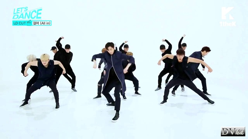 Monsta X 몬스타엑스 - All In 걸어 (dance tutorial) DVhd