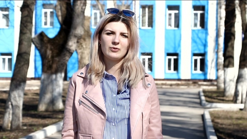 видеопрезентация Студент года-2018 Попова Диана
