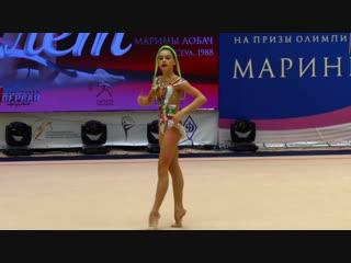 Лала Крамаренко - скакалка (финал) // МТ на призы Марины Лобач 2018