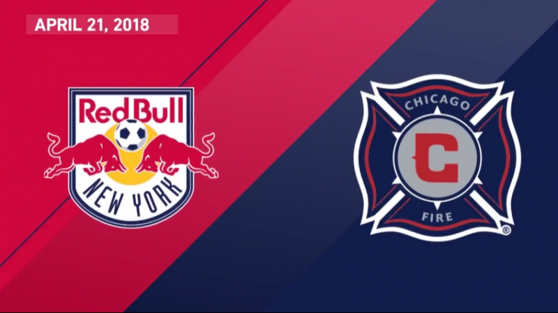 HIGHLIGHTS: New York Red Bulls vs Chicago Fire | April 21, 2018