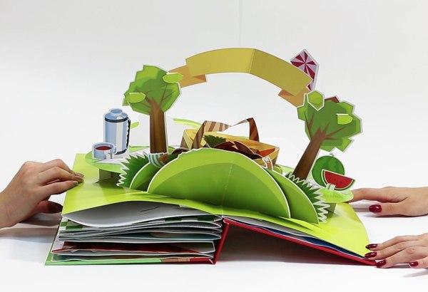 Как сделать книжку раскладушку своими руками из бумаги фото