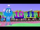 Lehrreicher Zeichentrickfilm - Zeem Zoom Cartoon - Die Zahlen 1 - 12