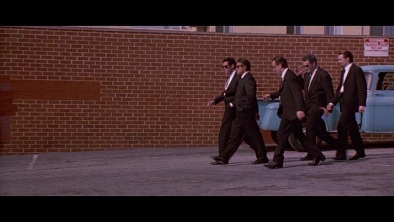 Reservoir dogs (1991) - Intro Walking scene