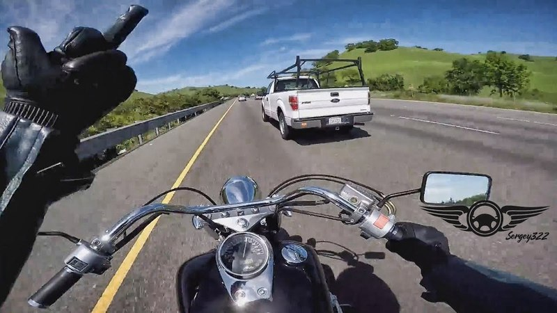 Angry Bikers vs Crazy People Close Call Road Range 2018