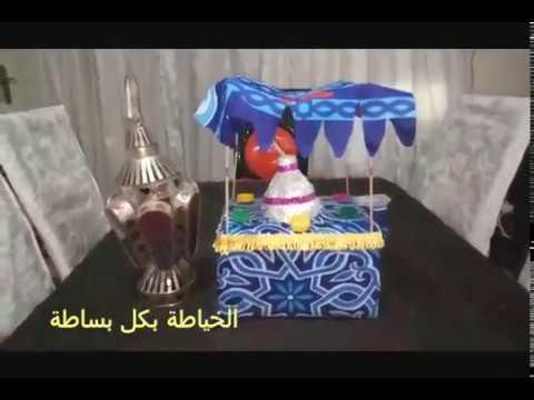 عربية الفول بقماش الخامية زينة رمضان 2019 باق160