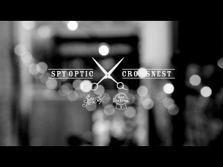 Spy Crosstown Collection x Crowsnest Barber