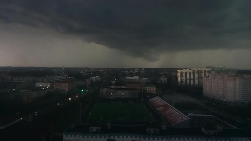 Lightning in Sergiev Posad at 21.04.18.mp4