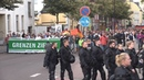 В Германии прошли демонстрации противников и сторонников миграционной политики властей