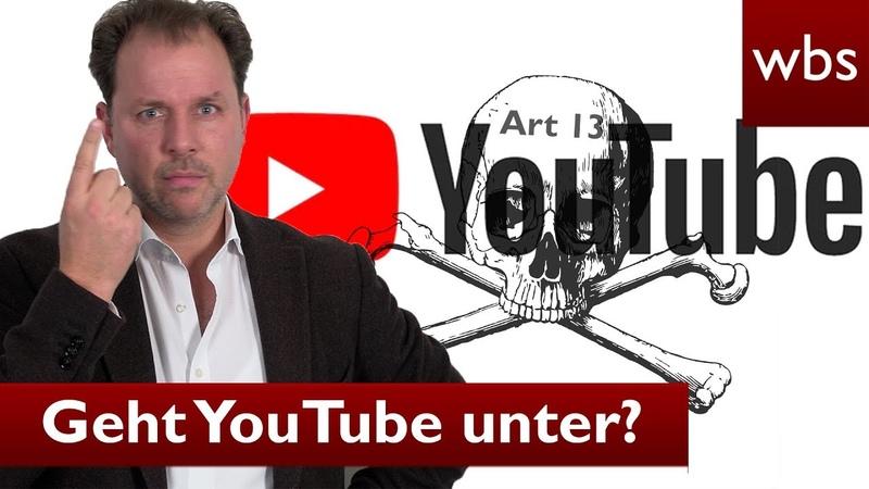 Zerstört Artikel 13 YouTube - Was es wirklich damit auf sich hat | Rechtsanwalt Christian Solmecke