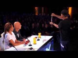 Smoothini Bar Magician Flies Through Amazing Tricks America's Got Talent 2014