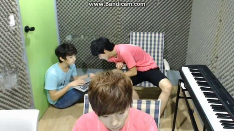 130806 SEVENTEEN TV - Jisoo junghan cut2 JIHAN