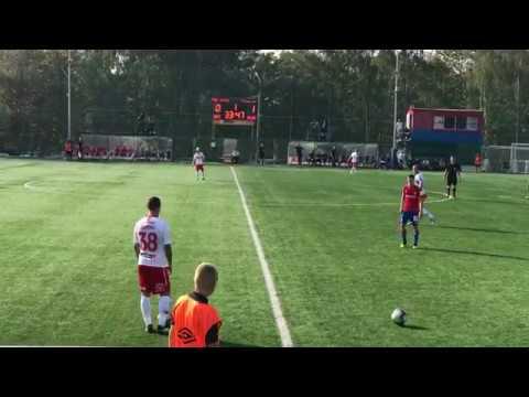 Глушаков и Ещенко сыграли за молодёжку «Спартака»