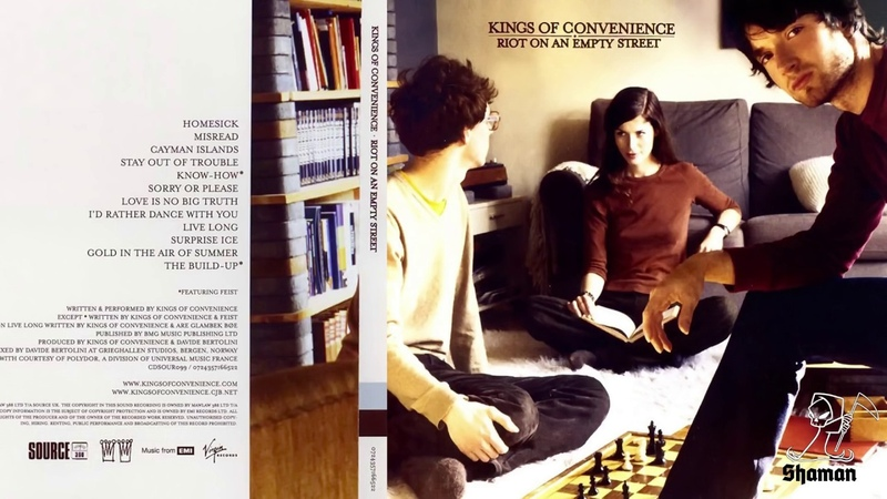 Kings of Convenience – Riot on an Empty Street / Full Album