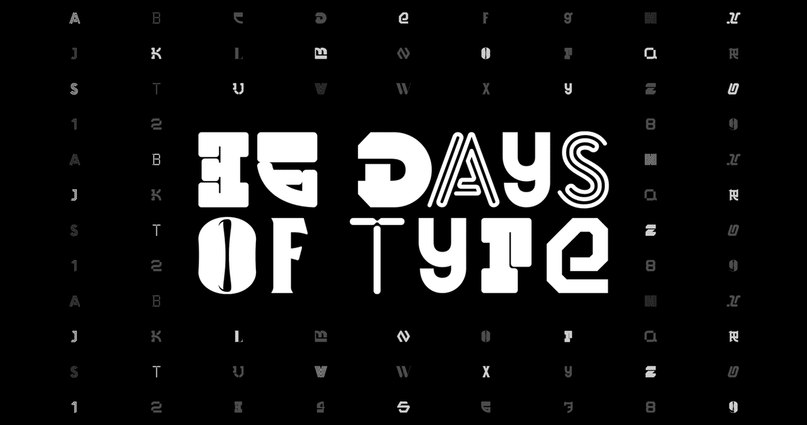 Download 36 Days of Type font (typeface)