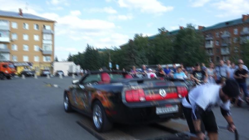 Тяга Ford Mustang Шалимов Дмитрий Бочков Михаил Москва